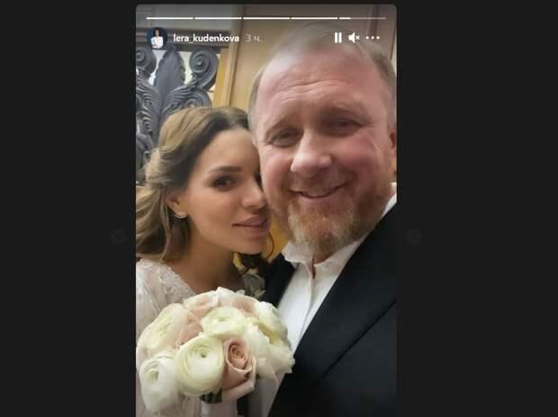 Константин Ивлев женился на молодой возлюбленной