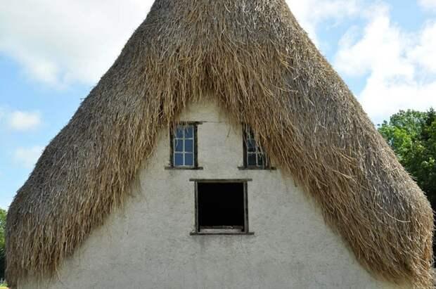 Необычная архитектура: забавные дома, у которых есть… лицо