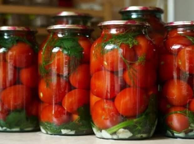 Помидоры Царские без уксуса. Рецепт вкусных и сладких помидор с небольшой кислинкой 2