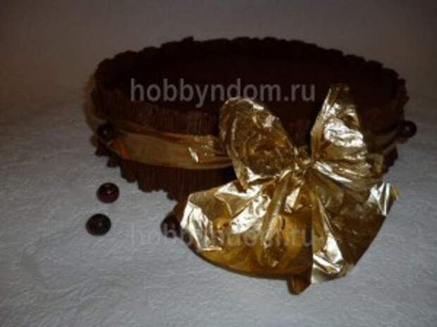 рог изобилия из конфет (20)