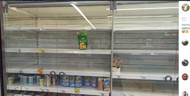 Сбои в поставке продуктов в сетевые магазины Марьина связали с жарой