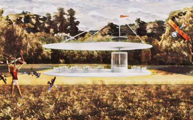 «Парк пяти морей» появится у Северного речного вокзала
