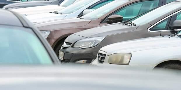 На четырёх улицах в Строгине с 5 апреля появятся платные парковки