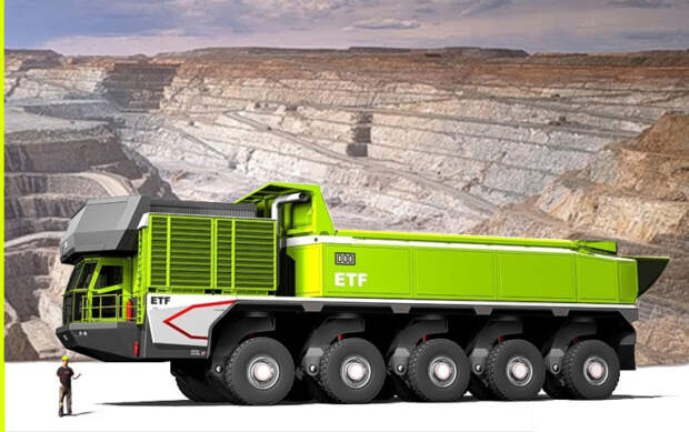 Большой и мощный самосвал. /Фото: trucksplanet.com.