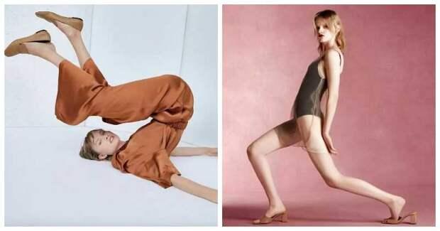 Самые неловкие и странные фотографии моделей Zara