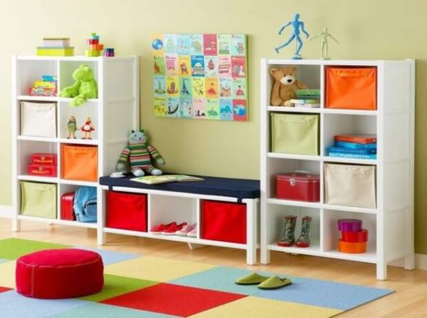 Как выбрать стеллаж для игрушек: разновидности форм и материалов (109 фото)