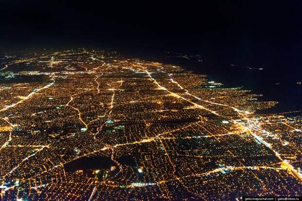 Фотографии из окна самолёта - 2014 аэрофотосъемка, города, горы, моря