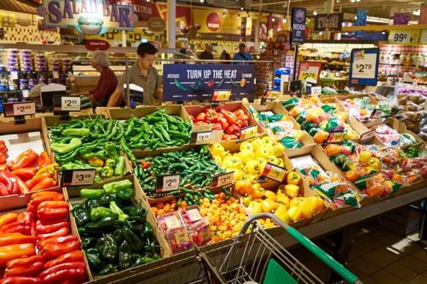 В США продовольственная инфляция бьёт рекорды