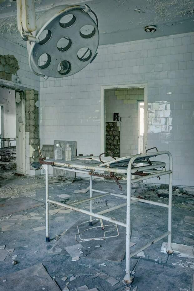 Украина, Чернобыльская больница.