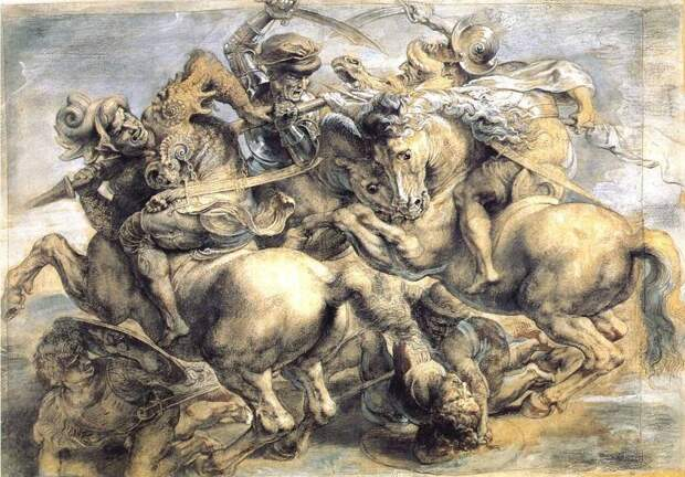 «Битва при Ангиари» и «Битва при Марчиано». Леонардо да Винчи и Джорджо Вазари
