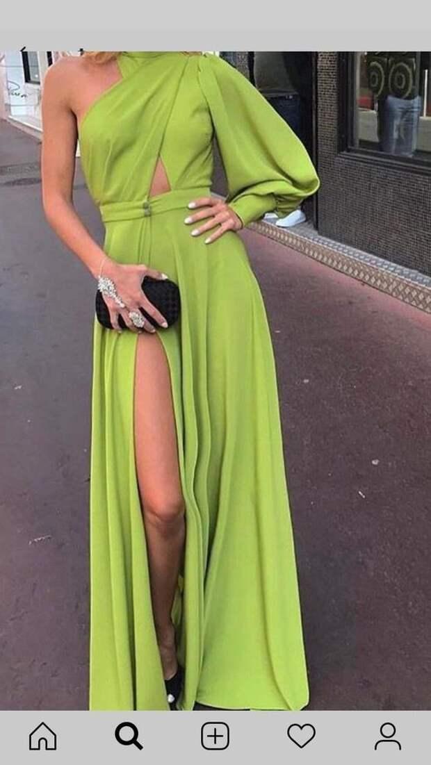 Элегантные платья с изысканным кроем: 17 идей для пошива