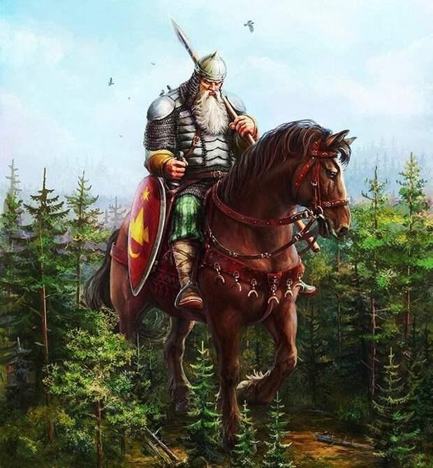 Как русские былины разоблачают лживую историю о монголо-татарах.