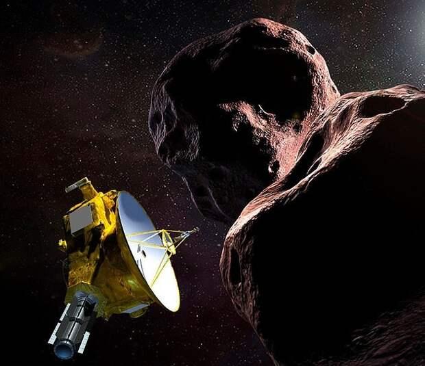 Космический корабль NASA New Horizon