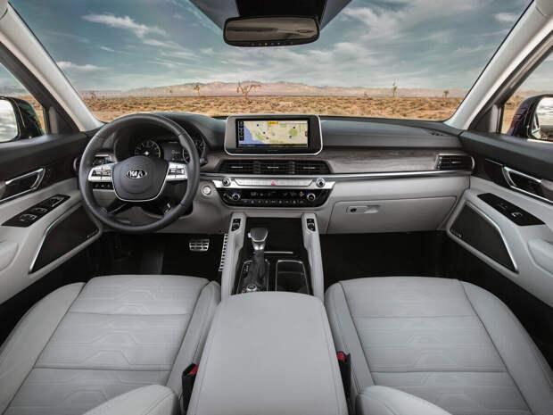 KIA теллурайд 2021, почему он стал автомобилем года?