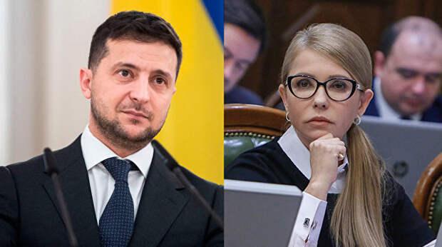 Тимошенко vs Зеленский. Управляемый конфликт как политическая технология новой власти Украины