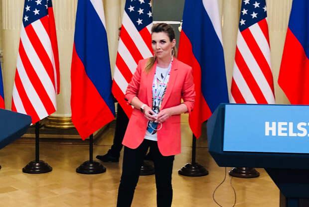 Уволенная за расизм Мегин Келли может начать работать со Скабеевой