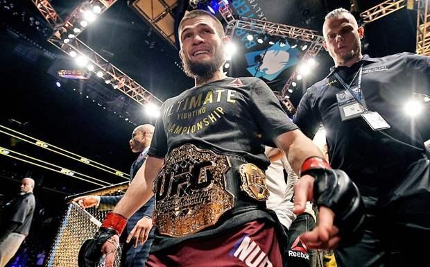 Хабиб вспомнил, как 3 года назад завоевал титул чемпиона UFC: «Тогда я шел с результатом 25-0»