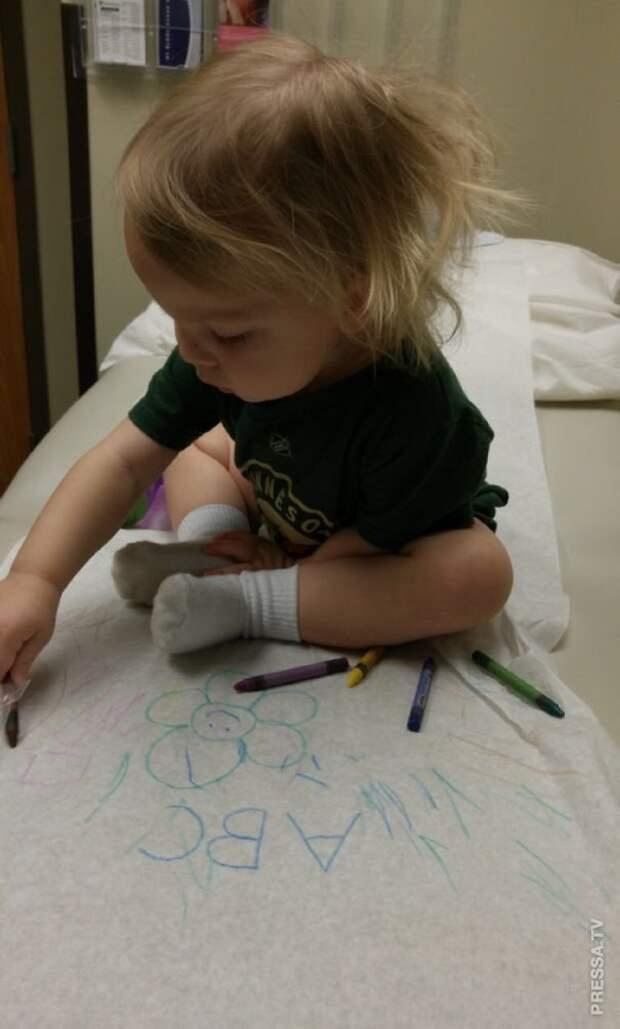 развлекаем ребенка в больнице