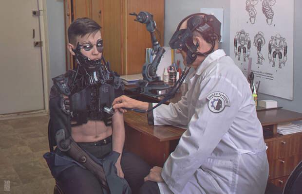 Прекрасная Россия будущего. Как будет выглядеть Россия, когда люди станут роботами, а роботы — людьми