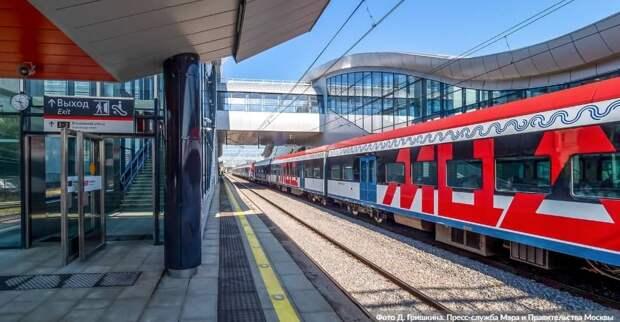 Сергей Собянин рассказал о реконструкции станций МЦД
