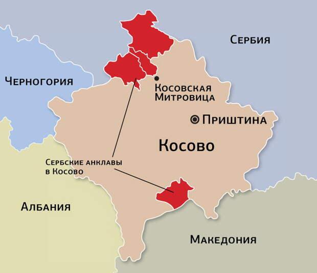 Путин поставил ультиматум Западу по Сербии