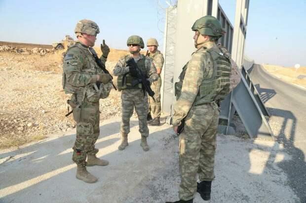 Совместный американо-турецкий патруль. 24 октября 2019 г.
