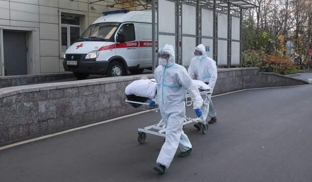 В России за сутки коронавирус сразил более 18 тысяч человек