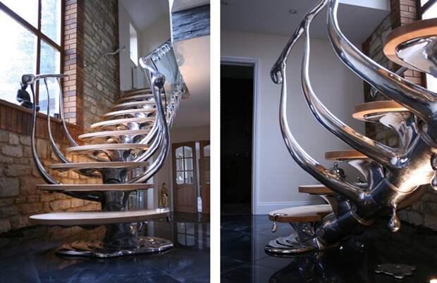 Эти необычные лестницы