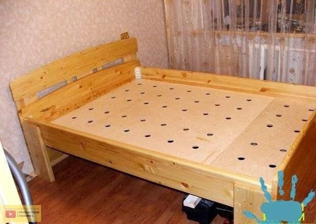 Инструкция по изготовлению деревянной кровати своими руками