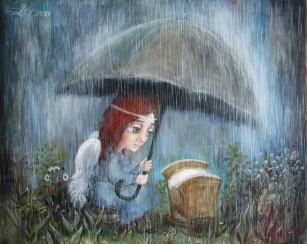 Картины о трогательных детях с мудрыми глазами: Сделано с душой и искренней  любовью