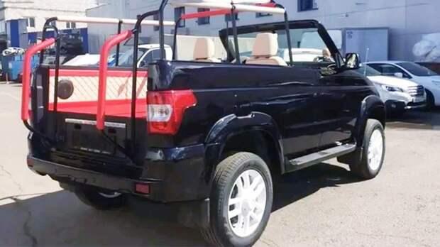 УАЗ «Патриот» стал церемониальной машиной президента Намибии