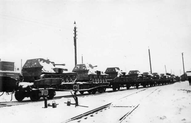 Противотанковые возможности советских 76,2-мм самоходных артиллерийских установок