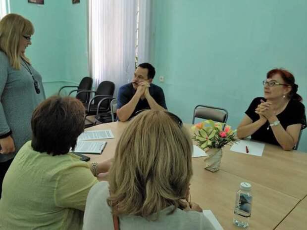 Участники круглого стола. Фото: ЦБС ЮВАО