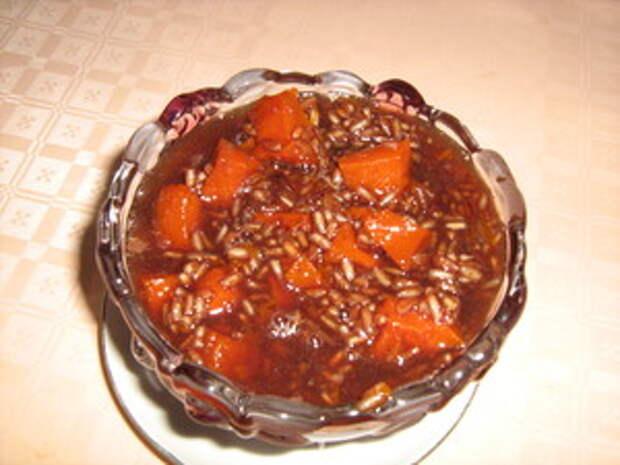 Фото к рецепту: Лечери  - тыква в виноградном соке, по-кобулетский )))