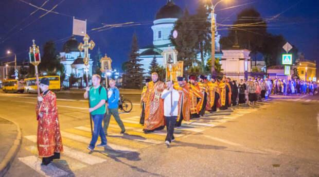В Ижевске пройдет ночной крестный ход