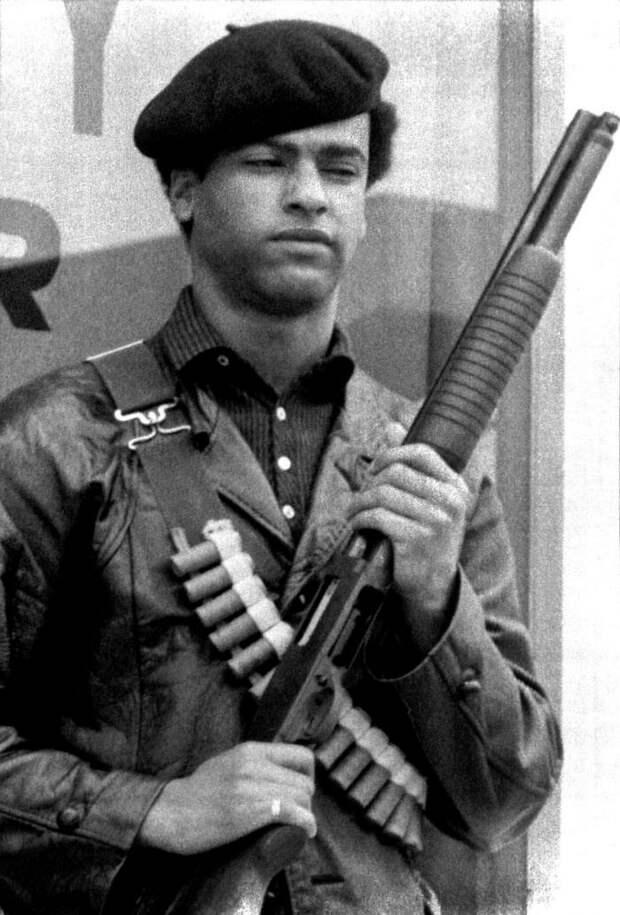 Социальные конфронтации в США 1960-х - 1970-х годов: Леворадикальная Партия черных пантер   (16)