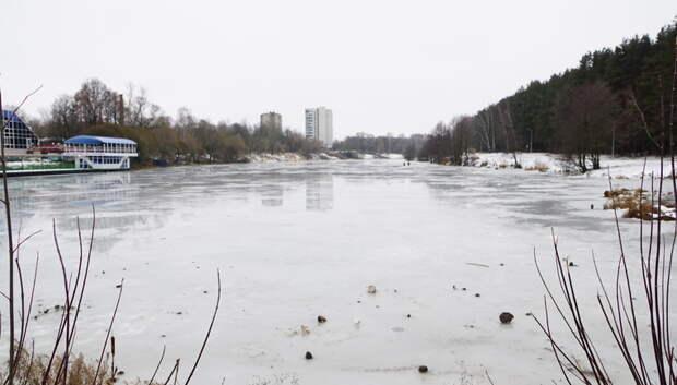 В Подольске ликвидируют незаконные водосбросы в реку Петрицу