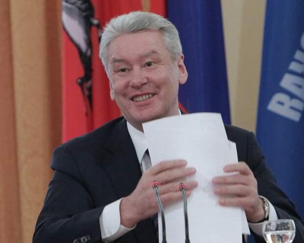 Собянин готовится второй раз стать мэром Москвы