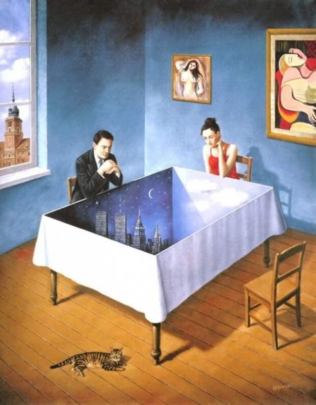 21 картина, которая обманет ваши глаза