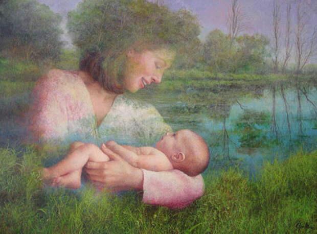 Обереги материнства на Руси