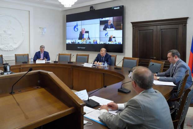 Глава Адыгеи и заместитель председателя правления ПАО «Газпром» провели совещание по развитию газовой отрасли республики