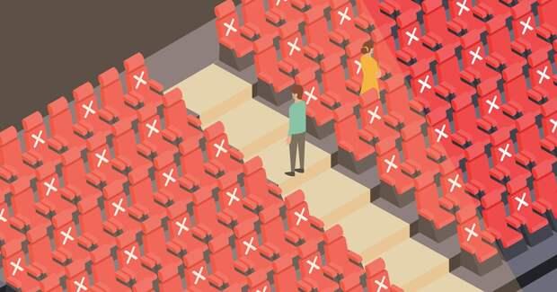 Оборот кинотеатров восстановился только на 5%