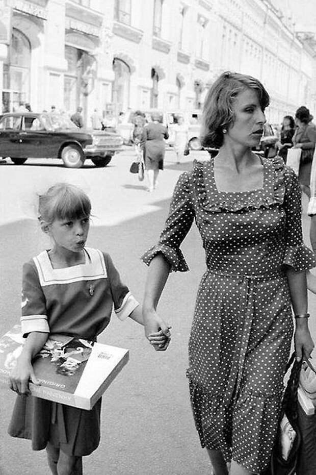 Летняя Москва 1980 года СССР, детство, фотографии