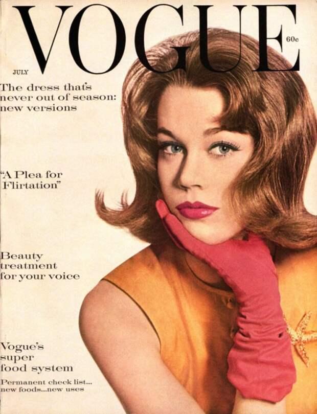 Джейн Фонда: нестареющий секс-символ 60-ых