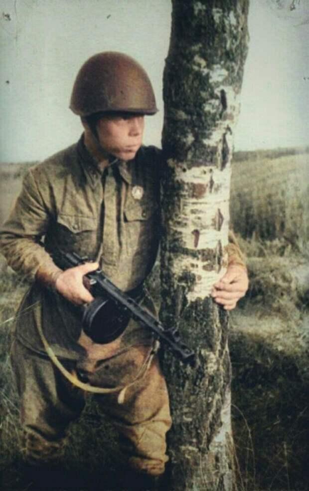 Как юный русский богатырь уничтожил почти целый батальон гитлеровцев