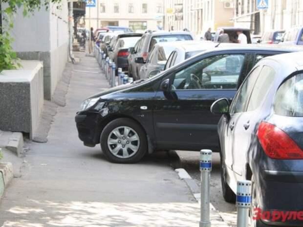 Опубликован список 25 улиц с платной парковкой за границей ТТК