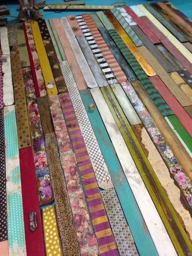Интересные, красивые и удивительные идеи для деревянного пола Фабрика идей, деревянные полы, идеи, красота, удивительно