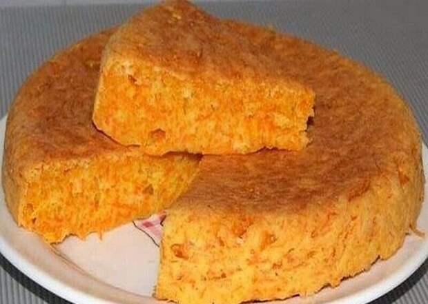 Пирог-десерт «Маня Морковкина»
