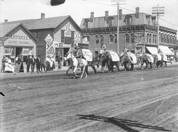 Как поднималась американская целина. Архивные фотографии пионеров Великих равнин конца 19-го века 39