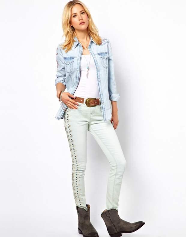 Украшаем джинсы: стильные элементы, добавляющие индивидуальности